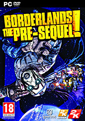 Borderlands: The Pre-Sequel PEGI AT Cover Packshot