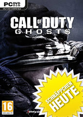Call of Duty: Ghosts uncut PEGI Cover Packshot