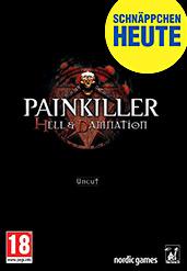 Painkiller Hell & Damnation uncut PEGI Version Cover Packshot