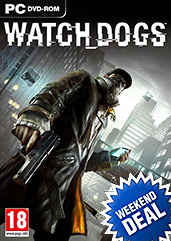 Watch Dogs PC PEGI Cover Packshot