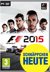 F1 2015 Cover Packshot