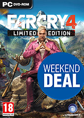 Far Cry 4 Limited Edition uncut PEGI Cover Packshot