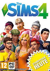 Die Sims 4 PEGI PC Cover Packshot
