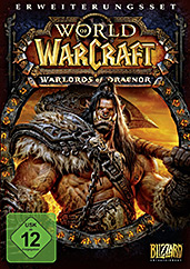 World of Warcraft: Warlords of Draenor uncut PEGI Cover
