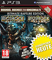 Bioshock Ultimate Rapture Edition uncut PEGI Cover Packshot