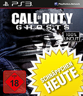 Call of Duty: Ghosts uncut Cover