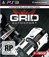GRID: Autosport Limited Black Edition Cover Packshot