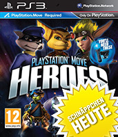 PlayStation Move Heroes Cover Packshot