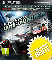 Ridge Racer Unbounded Limited Edition Cover