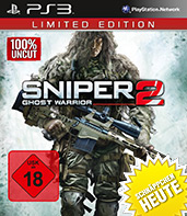 Sniper: Ghost Warrior 2 uncut Cover Packshot