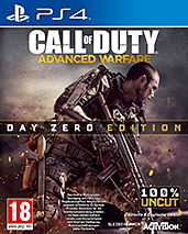 Call of Duty: Advanced Warfare uncut PEGI Cover Packshot