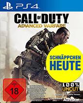 Call of Duty: Advanced Warfare uncut Cover Packshot