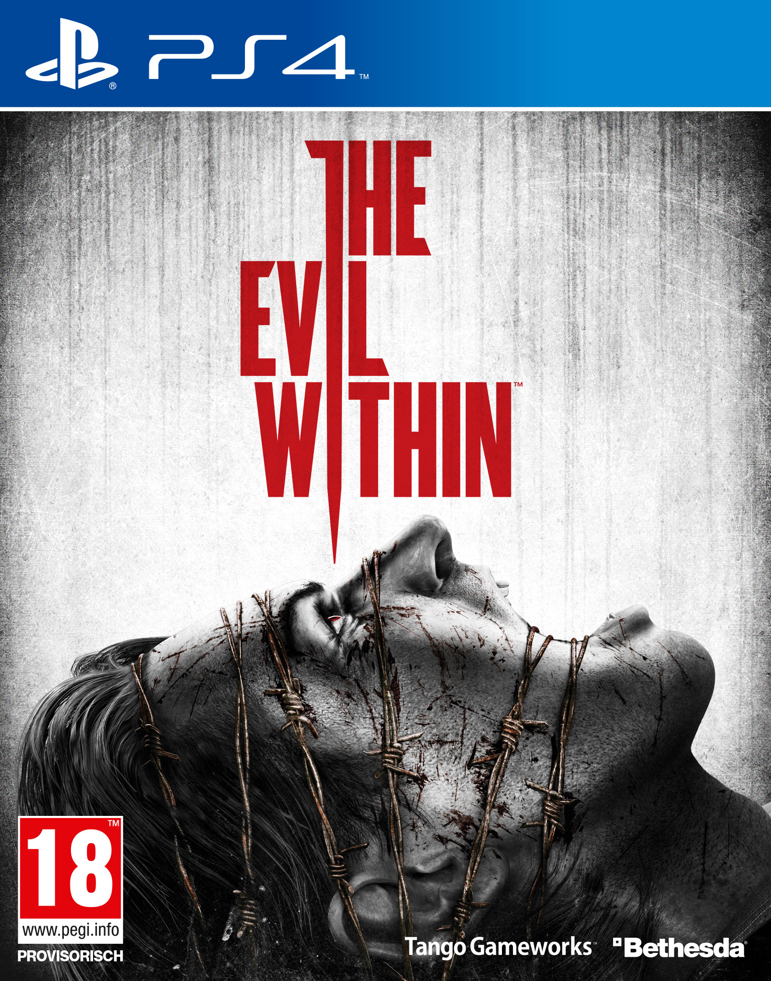 The Evil Within uncut AT-PEGI Cover Packshot