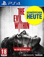 Evil Within uncut PEGI AT-Version Cover Packshot Next-Gen