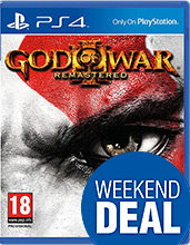 God of War 3 Remastered Edition Cover Packshot