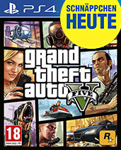 Grand Theft Auto V Cover Packshot