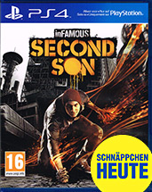 inFamous: Second Son uncut AT-PEGI Cover Packshot