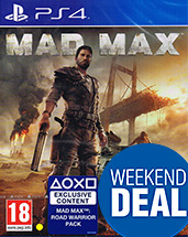 Mad Max PEGI Cover Packshot