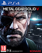 Metal Gear Solid 5: Ground Zeroes PEGI Cover