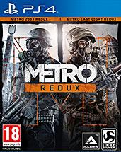 Metro Redux uncut AT-PEGI Cover Packshot