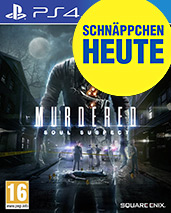 Murdered: Soul Suspect Cover Packshot PS4