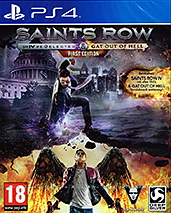 Saints Row Re-Elected + Gat out of Helluncut AT-PEGI Cover Packshot