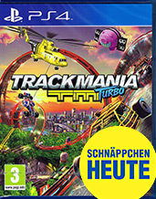 Trackmania Turbo AT-PEGI Cover