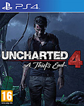Uncharted 4: A Thief's End Cover