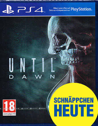 Until Dawn Cover Packshot