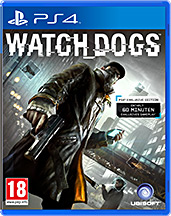 Watch Dogs PS4 PEGI Cover Packshot