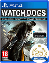 Watch Dogs Special Edition PEGI Cover Packshot