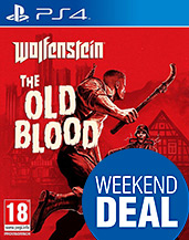 Wolfenstein: The Old Blood PEGI Cover