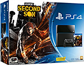 PlayStation 4 500 GB Konsole inkl. inFamous: Second Son Cover Packshot
