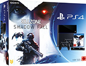 PlayStation 4 500 GB Konsole inkl. Killzone: Shadow Fall Cover Packshot