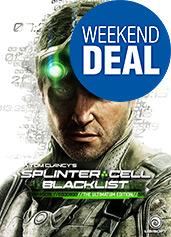 Splinter Cell: Blacklist uncut Ultimatum Edition AT-PEGI Cover