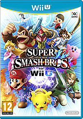 Super Smash Bros. Wii U AT-PEGI Cover Packshot