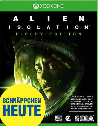 Alien: Isolation uncut AT-PEGI Cover Packshot