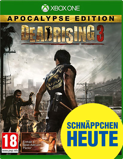 Dead Rising 3 Apocalypse Edition uncut AT-PEGI Cover