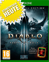 Diablo 3 Ultimate Evil uncut AT-PEGI Xbox One Cover Packshot
