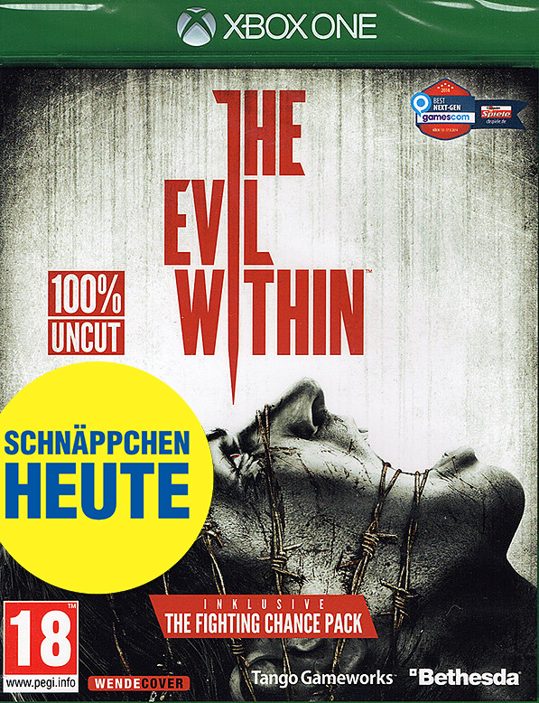 The Evil Within uncut AT-PEGI Cover