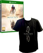 Xbox One 500 GB Bundle mit Assassins Creed: Unity, Assassins Creed: Black Flag und Halo 5: Guardians uncut PEGI Cover Packshot
