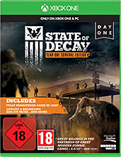 State of Decay Xbox One Cover Packshot