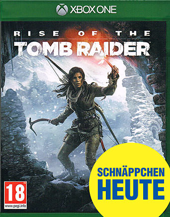Rise of the Tomb Raider D1 Edition AT-PEGI Cover