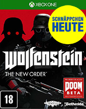 Wolfenstein: The New Order uncut US-Import Cover