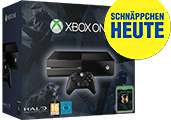 Xbox One 500 GB Bundle mit Halo: The Master Chief Collection uncut PEGI Cover Packshot