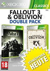 Fallout 3 & The Elder Scrolls IV: Oblivion Doppelpack Cover Packshot