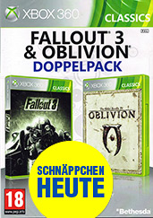 Fallout 3 & The Elder Scrolls 4: Oblivion AT-PEGI Cover Packshot