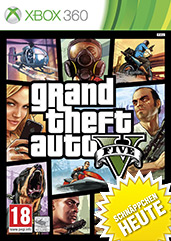 Grand Theft Auto V uncut PEGI Cover