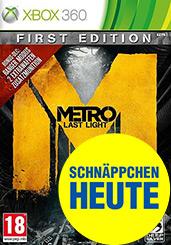 Metro: Last Light uncut PEGI Cover