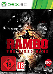 Rambo - The Videogame uncut PEGI Cover